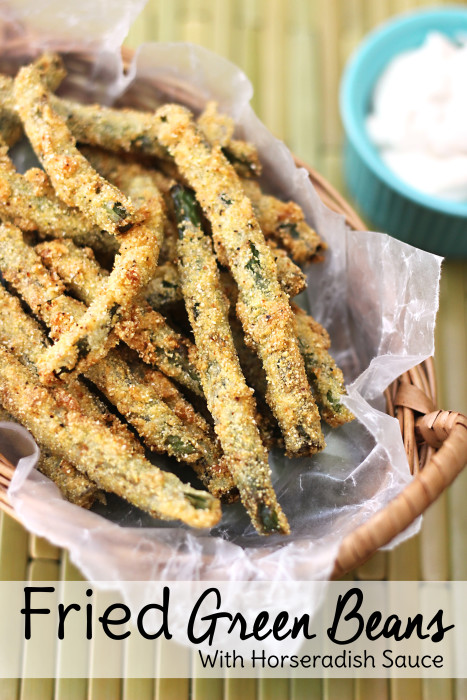 Football Game Day Foods Fried Green Beans