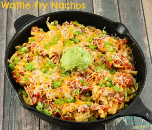 Football Game Day Foods Waffle Fry Nachos