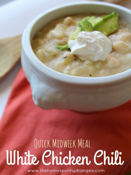 Football Game Day Foods White Chicken Chili