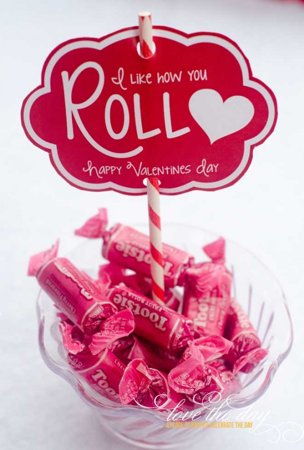 I like how you Roll Valentine's Day Card Printable