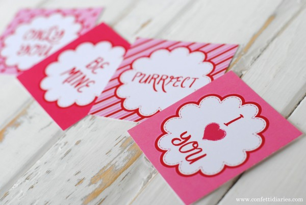 Love Token Valentine's Day Card Printables