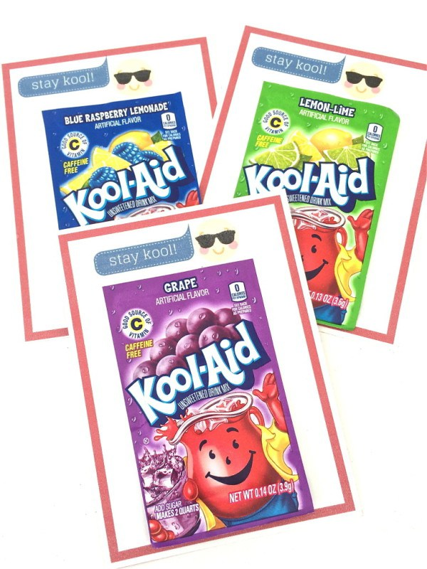 Stay Kool Koolaid Valentine's Day Card Printable