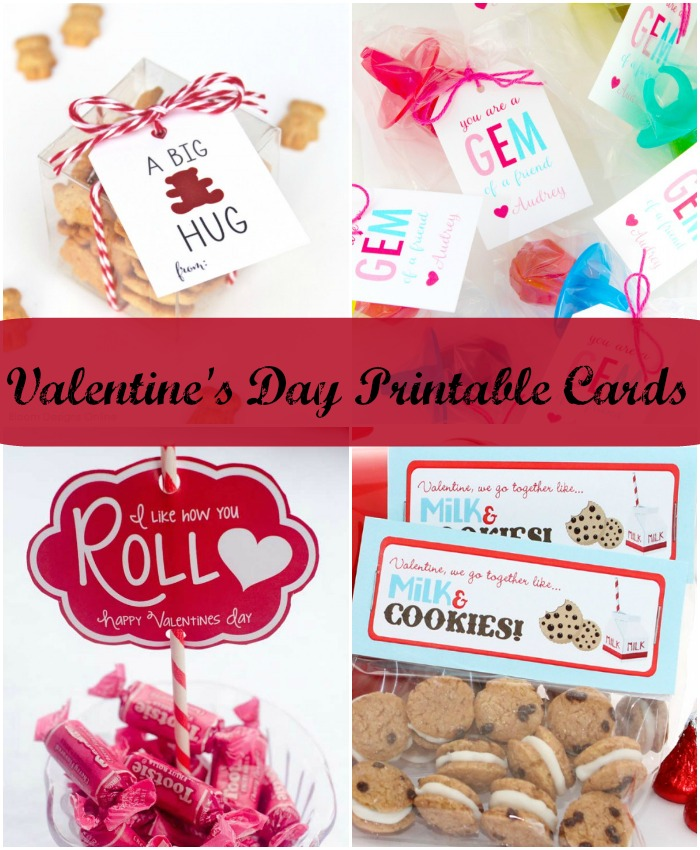 Valentine's Day Card Printables PI