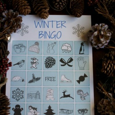 Printable Winter Bingo
