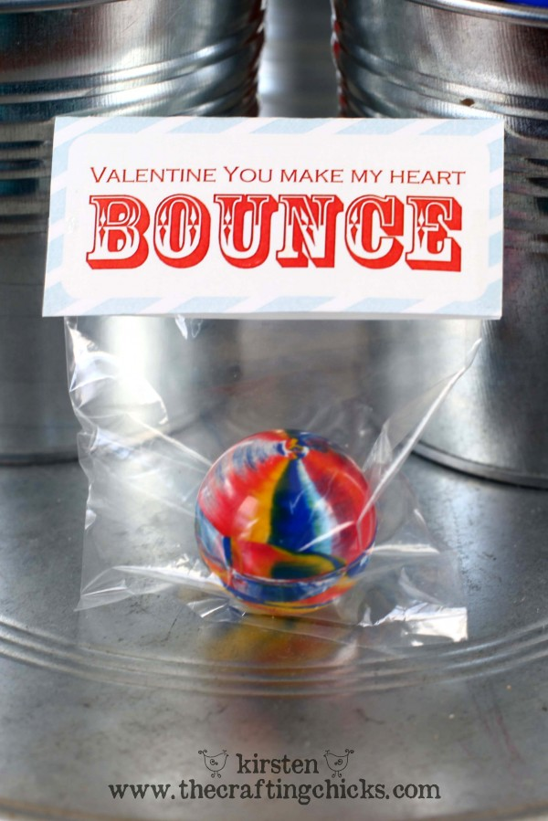 You Make My Heart Bounce Valentine's Day Printable