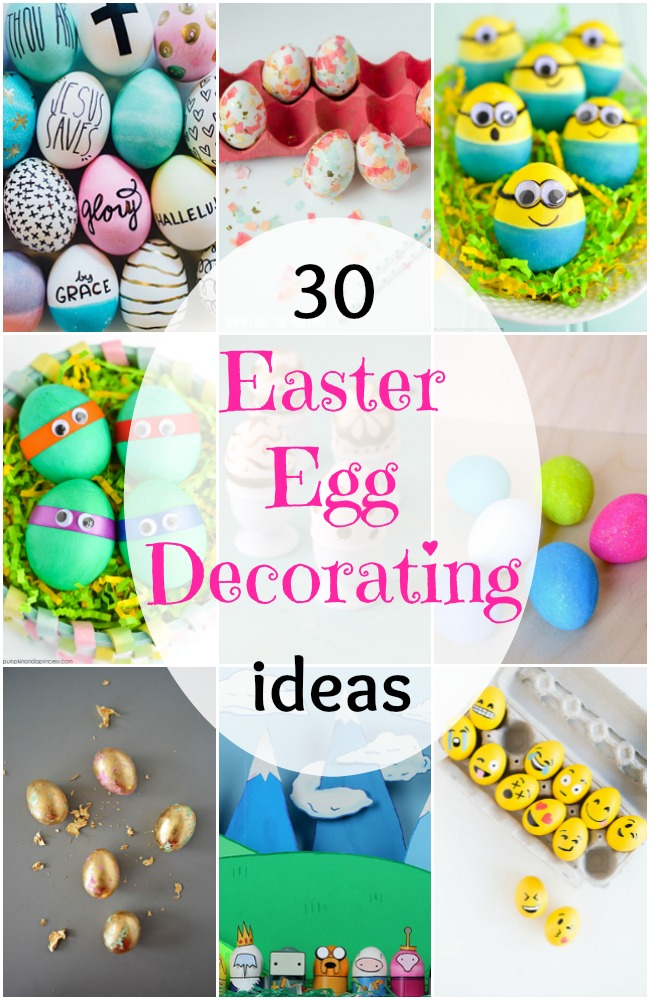 30 easter egg decorating ideas for Easter egg ideas