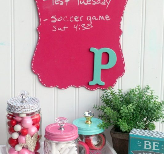 5 minute diy personalized chalkboard giggles galore