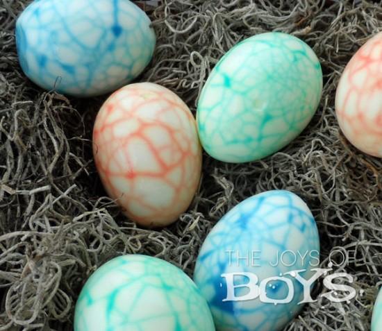 Dinosaur Easter Eggs, Easter Egg Decorating Ideas
