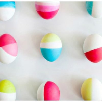 30 Easter Egg Decorating Ideas