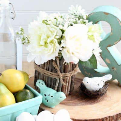 Rustic Easter Centerpiece