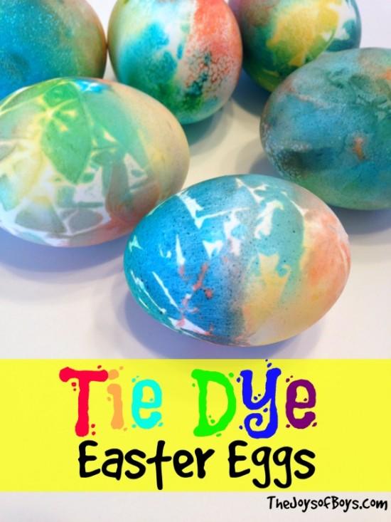 Tie Dye Easter Eggs, Easter Egg Decorating Ideas