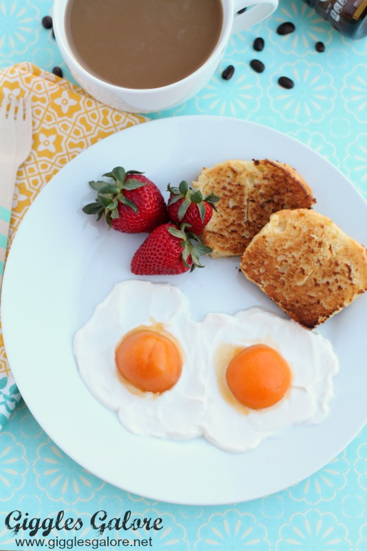 Sunny Side Up April Fools Day Eggs