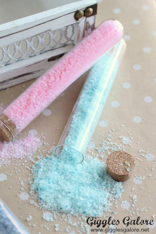Test Tube DIY Bath Salts