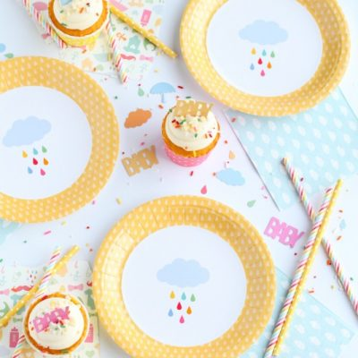 April Showers Inspired Baby Shower