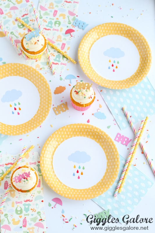 April Showers Inspired Baby Shower Products