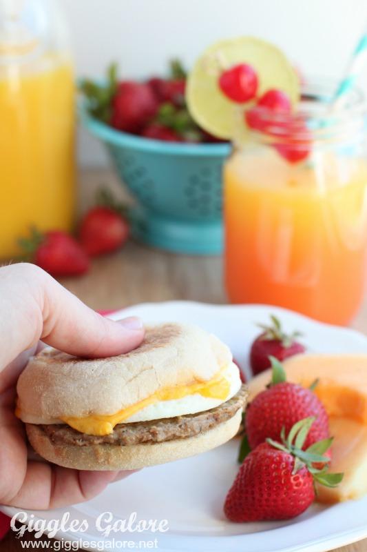 Start Mornings Right Jimmy Dean Breakfast