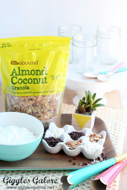 Almond Joy Parfait Ingredients