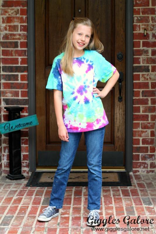 Aubrey in Tie Dye Shirt