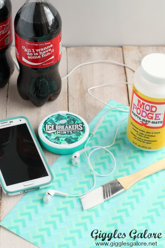 DIY Earphone Case Supplies