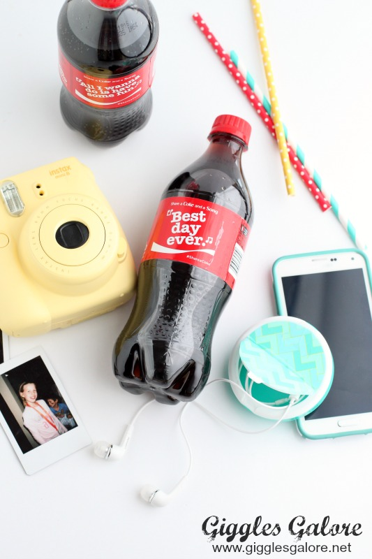 DIY Earphone Case with Coca-Cola