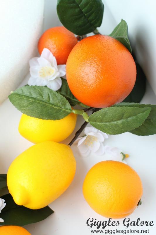 Faux Oranges and Lemons