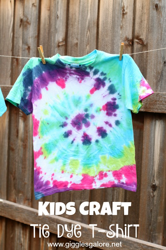 Kids Craft Tie Dye T-Shirt