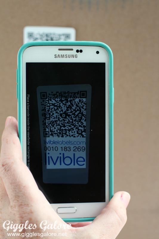 Livible Label QR Code