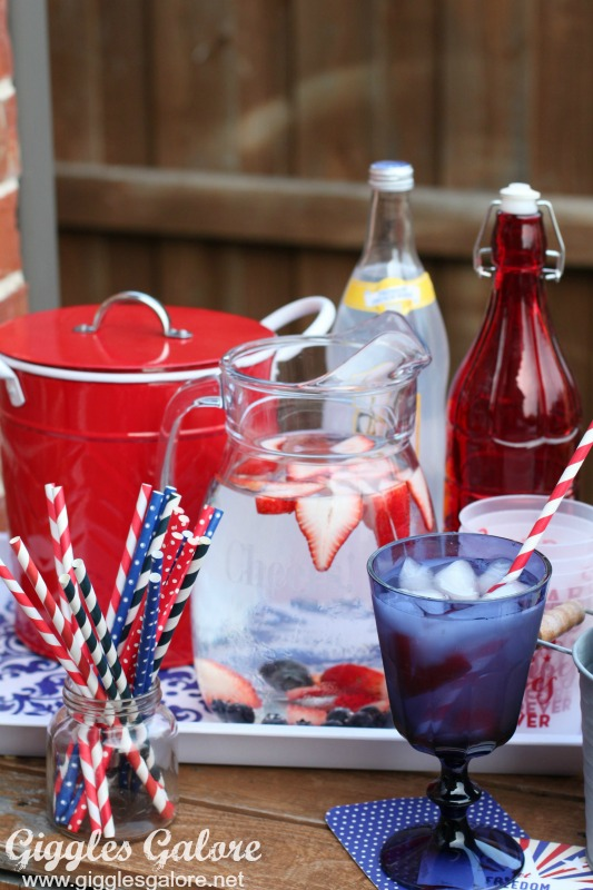 Memorial Day Bar Cart