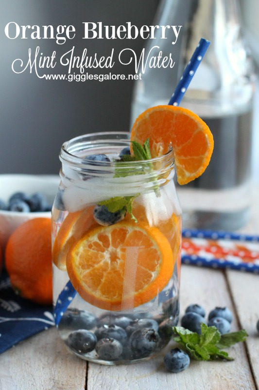Orange Blueberry Mint Infused Water_GG