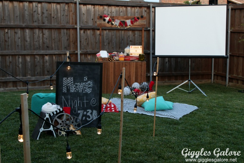 Outdoor Movie Night Party_Giggles Galore