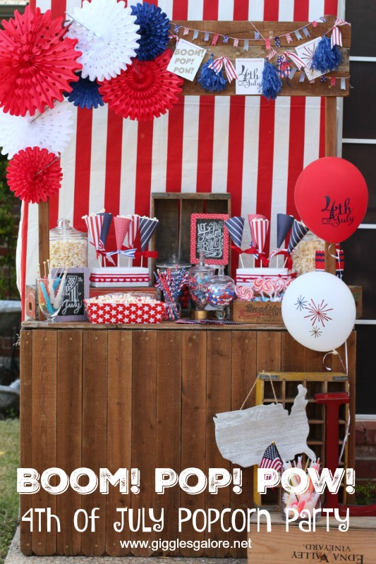 4th of July Patriotic Popcorn Party_GG