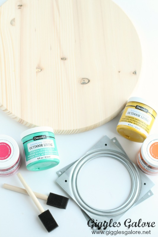 diy lazy susan not only is this colorful project simple it will cost you less than 20 and it will help make your party a breeze
