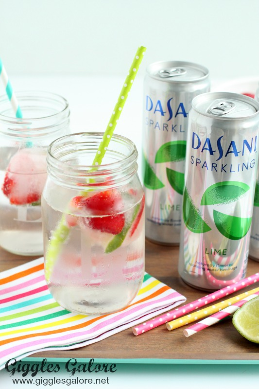 Dasani Sparkling with Fruit Infused Ice Cube