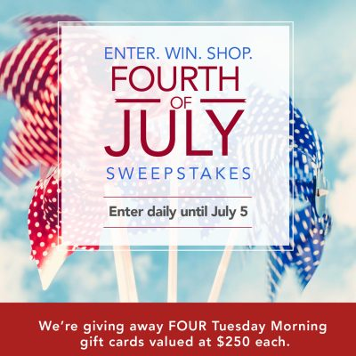 4th of July Sweepstakes