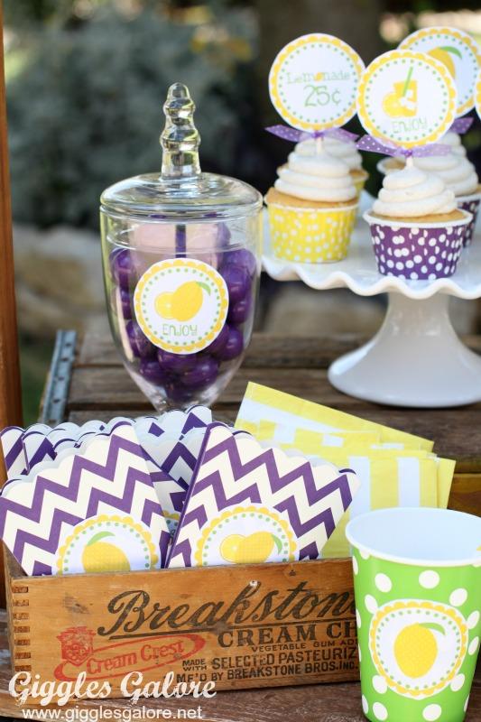 Lemonade Stand Goodies