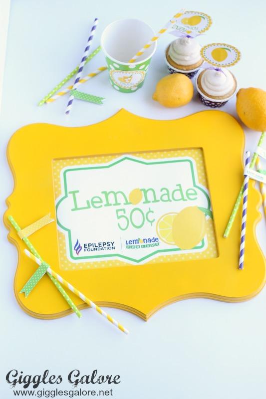 Lemonade for Livy Lemonade Sign