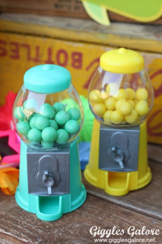 Mini Bubble Gum Machine