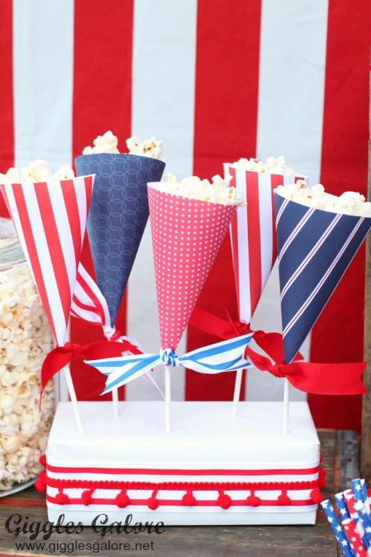 Patriotic Popcorn Cones_GG