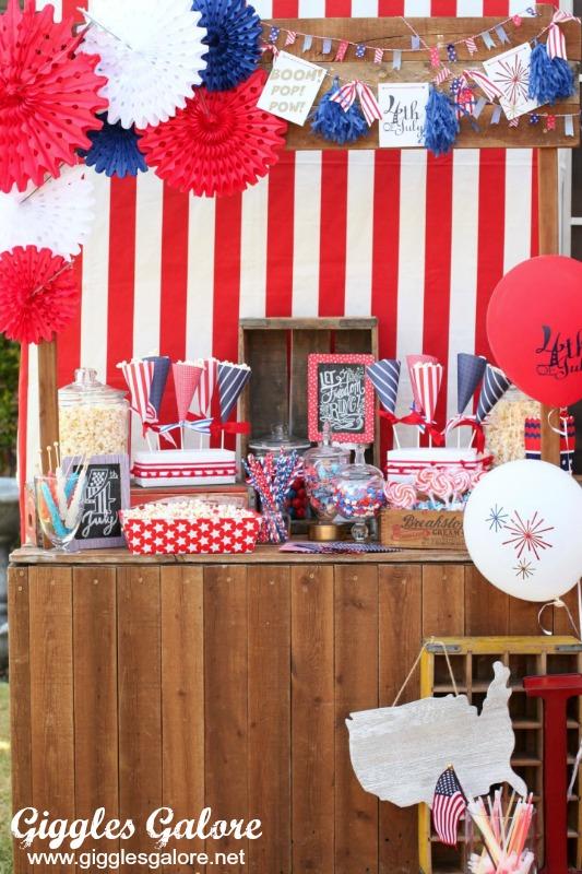 Patriotic popcorn party gg