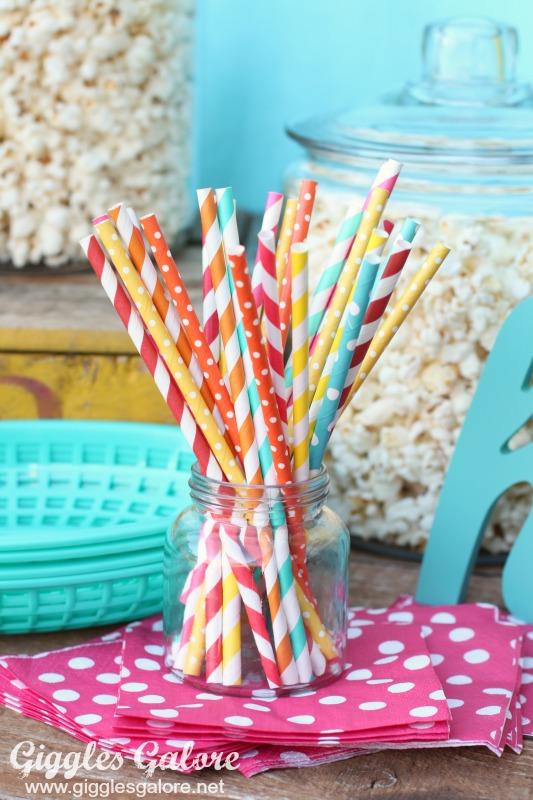 Pretty Paper Straws