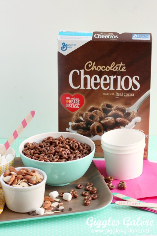 Rocky Road Trail Mix Chocolate Cheerios