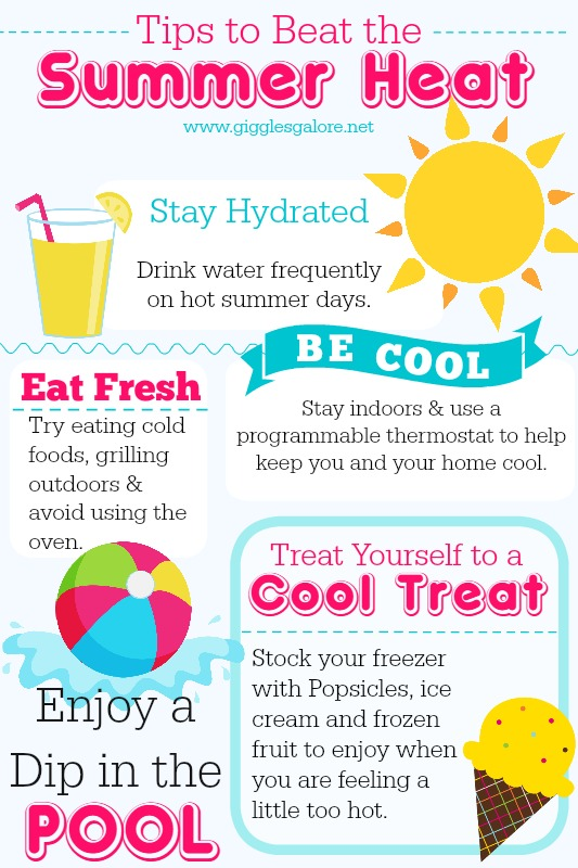 Tips To Beat The Summer Heat Giggles Galore