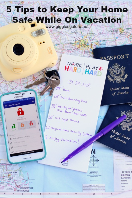 5 Tips to Keep Your Home Safe While On Vacation
