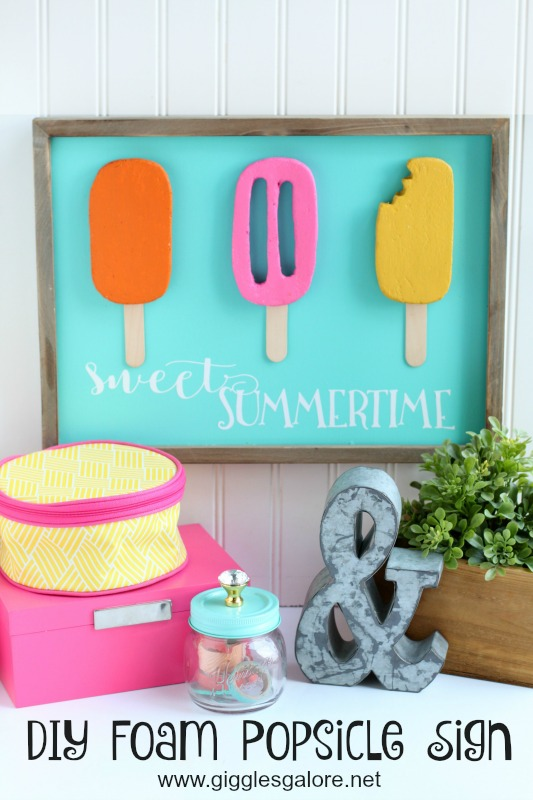 DIY Foam Popsicle Sign_GG
