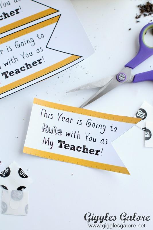 Free Teacher Gift Printaable Tags