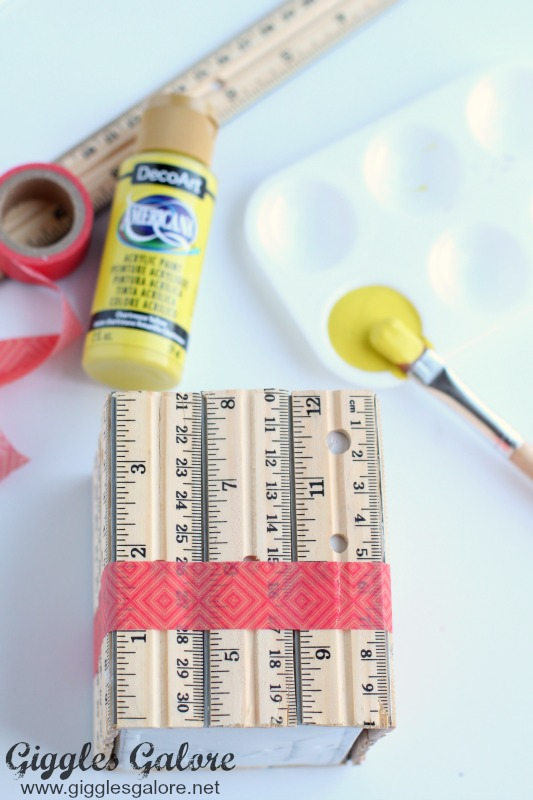 Painting Ruler Planter