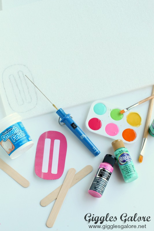 Popsicle Art Supplies