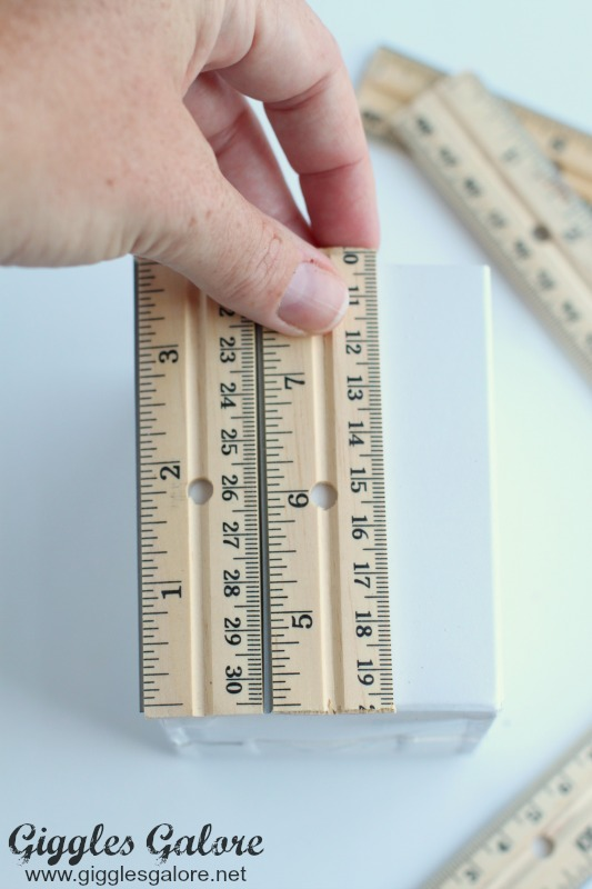 Rulers on Container
