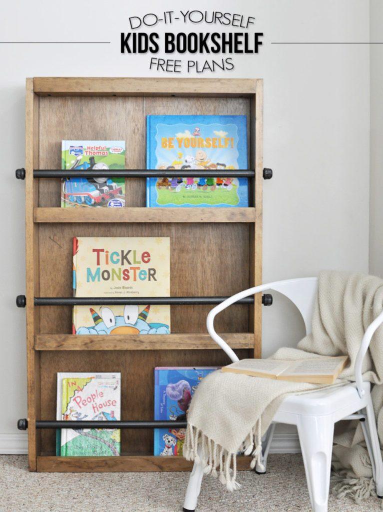 DIY-Kids-Bookshelf-Free-Plans-768x1026