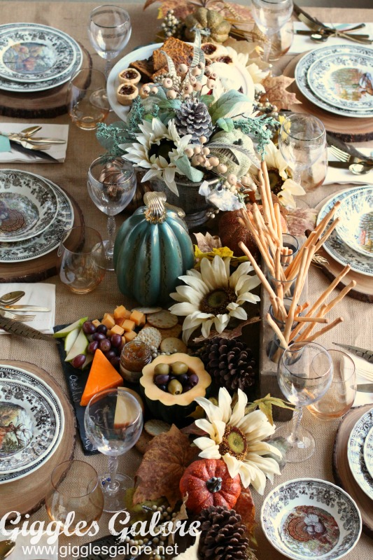 Fall Entertaining Harvest Dinner Table